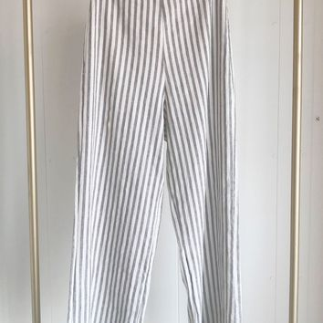 High Waisted Stripe Pant
