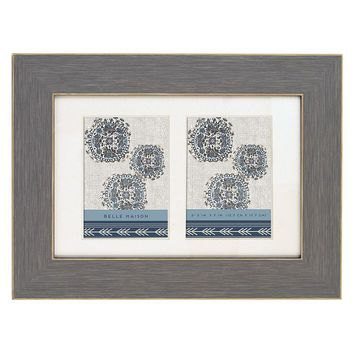 Belle Maison Double Opening 5'' x 7'' Frame (Blue)