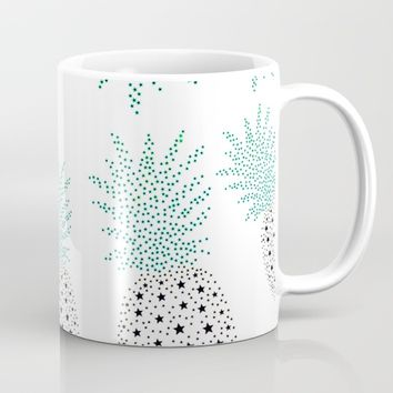 Pineapple Pattern Mug by ES Creative Designs