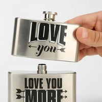 Double-Tiered Flask - Urban Outfitters