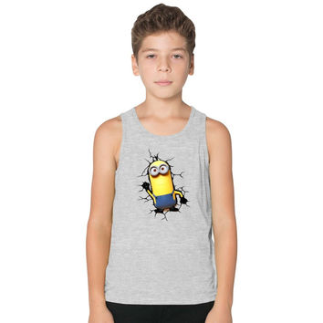Kevin Minions  Kids Tank Top