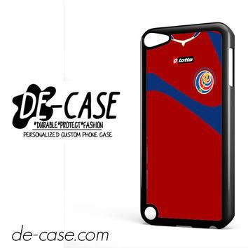 Costa Rica Soccer Jersey For Ipod 5 Ipod Touch 5 Case Phone Case Gift Present YO