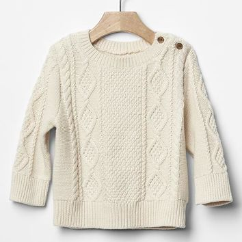 Gap Baby Cable Knit Sweater