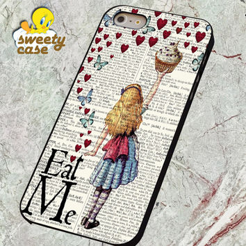 Alice in Wonderland Madhatter Chershire Cat  for SMARTPHONE CASE