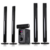 beFree Sound Amplifier 5.1 Channel  Bluetooth Speaker System with USB and SD Slots