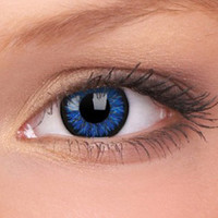 Coloured Contact Lenses | Blue Glamour Contact Lenses (Pair)