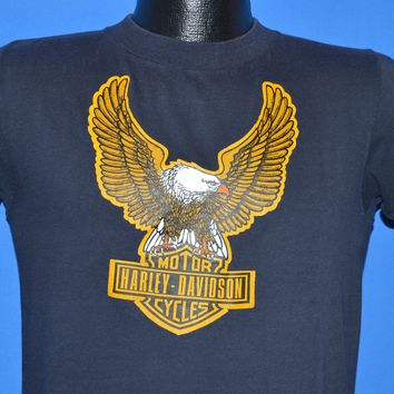 70s Harley Davidson Motorcycle Iron On t-shirt Small