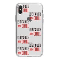 Netflix and Chill iPhone Case