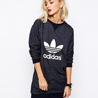 Adidas Originals Trefoil Sweat Dress at asos.com