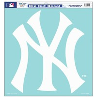MLB New York Yankees 18-by-18 Die Cut Decal