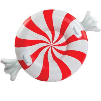 Giant Peppermint Twist Snow Tube
