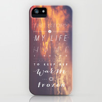 One Direction: Story Of My Life iPhone & iPod Case by MaFleur