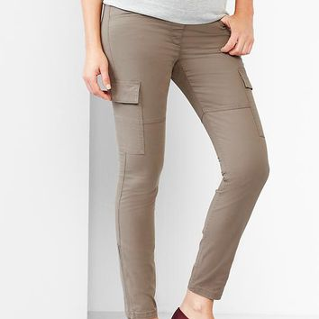 Unique Gap Cargo Pants Slim Fit In Khaki For Men  Lyst