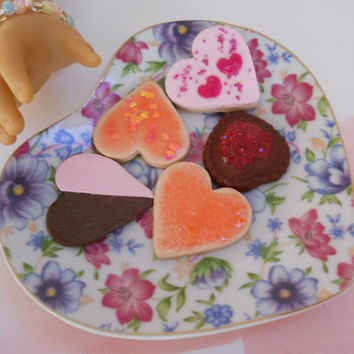 Sugar Cookies Candy set of 5 for 15 inch and larger dolls  (Only set) set 002