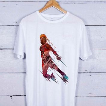 DCCKHD9 Air Jordan Michael Art Tshirt T-shirt Tees Tee Men Women Unisex Adults