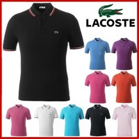 LACOSTE POLO 2018 MEN SHIRT T SHIRT SHORT SLEEVE