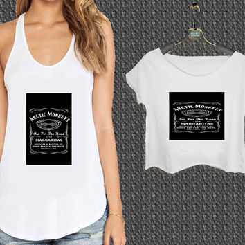 One For The Road Arctic Monkeys Alex Turner For Woman Tank Top , Man Tank Top / Crop Shirt, Sexy Shirt,Cropped Shirt,Crop Tshirt Women,Crop Shirt Women S, M, L, XL, 2XL*NP*