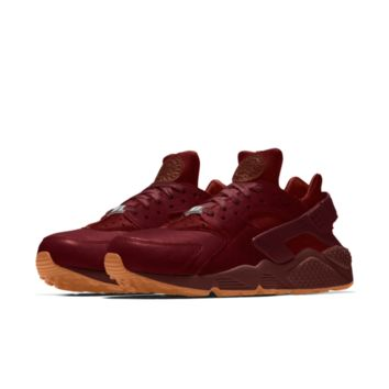 The Nike Air Huarache Premium Will Leather Goods iD Shoe.