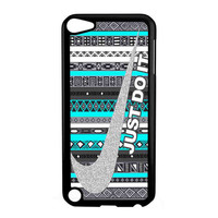 Nike Just Do It Sport Aztec Pattern Design iPod Touch 5th case