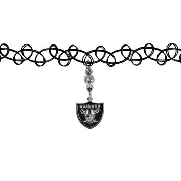 Oakland Raiders Knotted Choker FCKR125