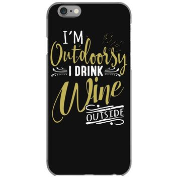 wine outside iPhone 6/6s Case