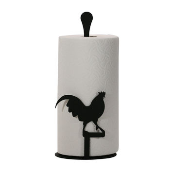 Rooster - Paper Towel Stand