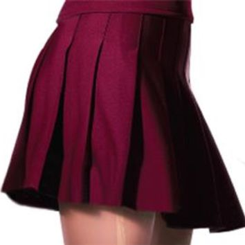 Alleson Knife Pleat Cheerleaders Uniform Skirts
