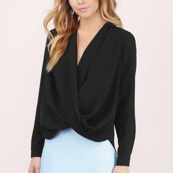 Loveletter Surplice Blouse