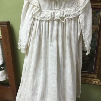 Antique Victorian Style Little Girl's Dress