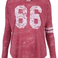 86 Long Sleeve Top By Project Social T - Jersey Tops - Clothing - Topshop