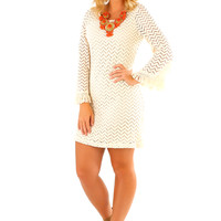 New Girl In Town Dress: Ivory