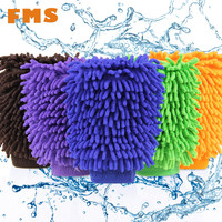 Car Care Ultrafine Fiber Chenille Soft Towel Microfiber Car Wash Glove Car Cleaning Tool Mitt car detailing limpieza automovil