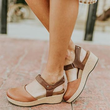 Toe Covered Mary Janes Pumps Platform Shoes Woman