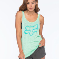 Fox Amp Up Womens Tank Aqua  In Sizes