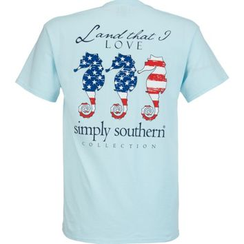 Simply Southern Women's Americana T-shirt | Academy