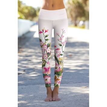 Mountain Garden Lucy Floral Performance Leggings - Women