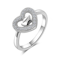 Heart 925 Sterling Silver Ring