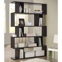 Baxton Studio Samuel Dark Brown/ Espresso Modern Storage Shelf | Overstock.com Shopping - The Best Deals on Media/Bookshelves