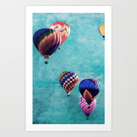 Fly Away Art Print by Noonday Design