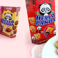 Buy Meiji Hello Panda Creamy Chocolate Filled Biscuits at Tofu Cute