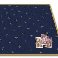 Astrology Velvet Tarot Cloth