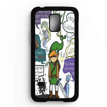 Zelda Art Samsung Galaxy S5 Mini Case
