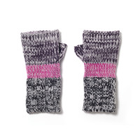 Shiraleah 'Zoey' Heathered Fingerless Gloves