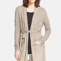 Women's Vince Long Belted Cardigan,