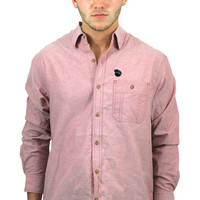 Classic Patch Shirt in Red