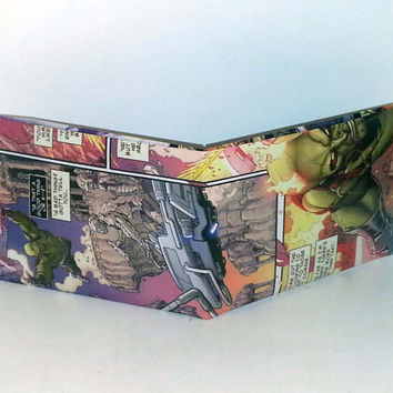Black Friday Sale// Comic Book Wallet// Drax