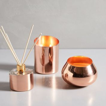 Angled Metal Homescent Collection - Copper