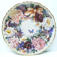 Bradford Exchange  Circle Of Love Collector plate Signed Lena Liu Hand Numbered