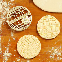 Star War - Cookie Cutter death star necklace death star decal death star mold death star pinata death star dress party dress C048