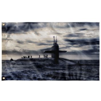 "Submarine - Wall Flag 36""x60"""